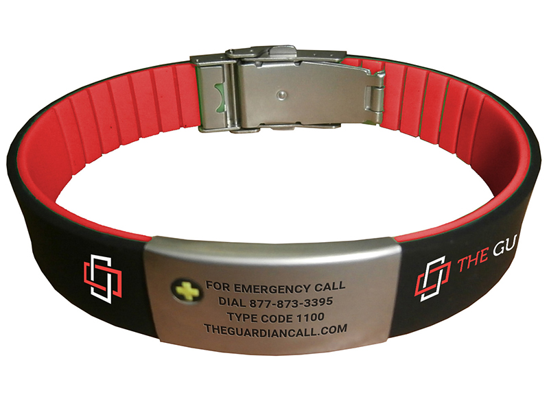Waterproof Medical Alert Bracelet With