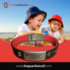 Kids playing with safety using bracelet